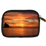 Sunset Sea Afterglow Boot Digital Camera Cases Back