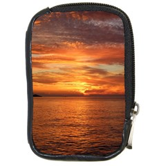 Sunset Sea Afterglow Boot Compact Camera Cases