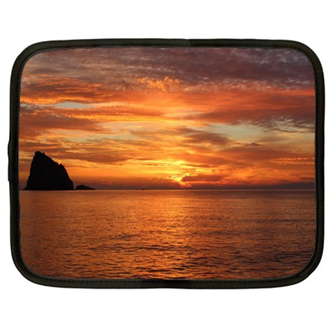 Sunset Sea Afterglow Boot Netbook Case (XL)