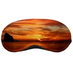 Sunset Sea Afterglow Boot Sleeping Masks Front