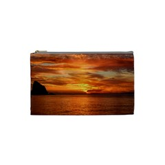 Sunset Sea Afterglow Boot Cosmetic Bag (Small)