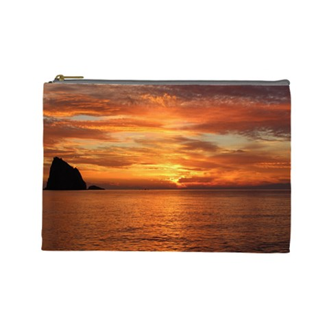 Sunset Sea Afterglow Boot Cosmetic Bag (Large)