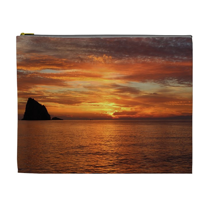 Sunset Sea Afterglow Boot Cosmetic Bag (XL)