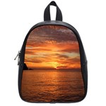 Sunset Sea Afterglow Boot School Bags (Small)  Front
