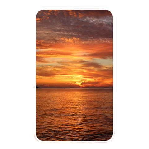 Sunset Sea Afterglow Boot Memory Card Reader