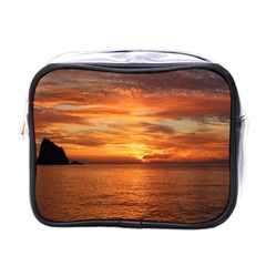 Sunset Sea Afterglow Boot Mini Toiletries Bags