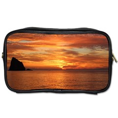 Sunset Sea Afterglow Boot Toiletries Bags