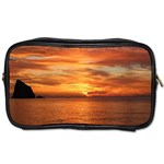 Sunset Sea Afterglow Boot Toiletries Bags 2-Side Front