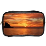 Sunset Sea Afterglow Boot Toiletries Bags 2-Side Back