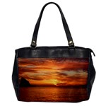 Sunset Sea Afterglow Boot Office Handbags Front