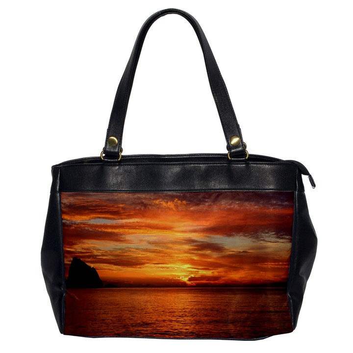 Sunset Sea Afterglow Boot Office Handbags