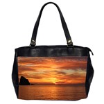 Sunset Sea Afterglow Boot Office Handbags (2 Sides)  Front