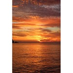 Sunset Sea Afterglow Boot 5.5  x 8.5  Notebooks Back Cover Inside