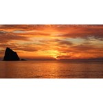 Sunset Sea Afterglow Boot Magic Photo Cubes Long Side 1