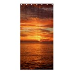 Sunset Sea Afterglow Boot Shower Curtain 36  x 72  (Stall)  36 x72 Curtain
