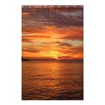 Sunset Sea Afterglow Boot Shower Curtain 48  x 72  (Small)  48 x72 Curtain