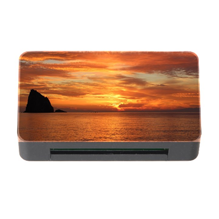 Sunset Sea Afterglow Boot Memory Card Reader with CF