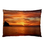 Sunset Sea Afterglow Boot Pillow Case (Two Sides) Back