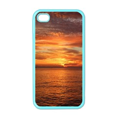 Sunset Sea Afterglow Boot Apple iPhone 4 Case (Color)