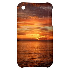 Sunset Sea Afterglow Boot Apple iPhone 3G/3GS Hardshell Case