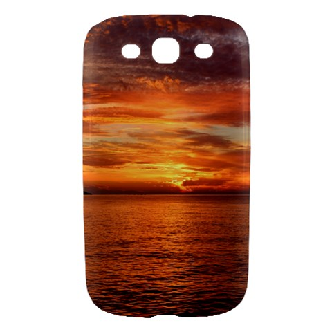 Sunset Sea Afterglow Boot Samsung Galaxy S III Hardshell Case