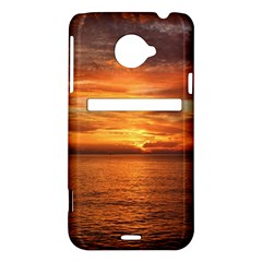 Sunset Sea Afterglow Boot HTC Evo 4G LTE Hardshell Case