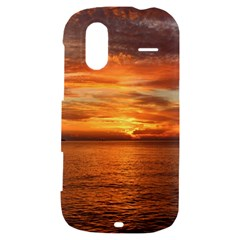 Sunset Sea Afterglow Boot HTC Amaze 4G Hardshell Case