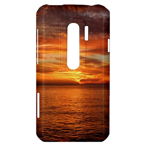 Sunset Sea Afterglow Boot HTC Evo 3D Hardshell Case