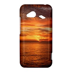Sunset Sea Afterglow Boot HTC Droid Incredible 4G LTE Hardshell Case