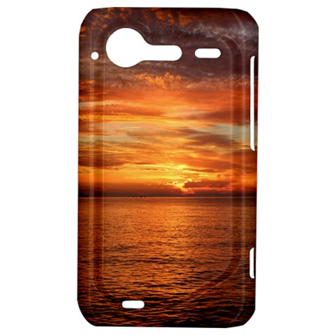 Sunset Sea Afterglow Boot HTC Incredible S Hardshell Case