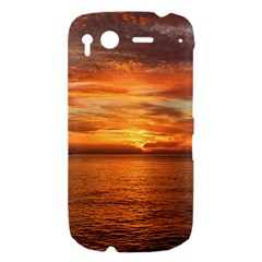 Sunset Sea Afterglow Boot HTC Desire S Hardshell Case