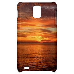 Sunset Sea Afterglow Boot Samsung Infuse 4G Hardshell Case