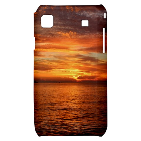 Sunset Sea Afterglow Boot Samsung Galaxy S i9000 Hardshell Case