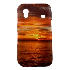 Sunset Sea Afterglow Boot Samsung Galaxy Ace S5830 Hardshell Case