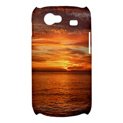 Sunset Sea Afterglow Boot Samsung Galaxy Nexus S i9020 Hardshell Case