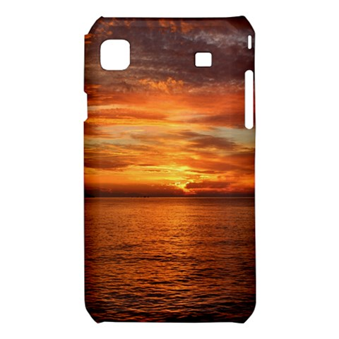 Sunset Sea Afterglow Boot Samsung Galaxy S i9008 Hardshell Case