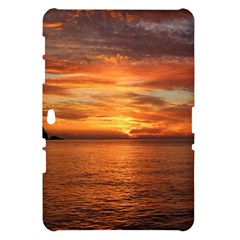 Sunset Sea Afterglow Boot Samsung Galaxy Tab 10.1  P7500 Hardshell Case
