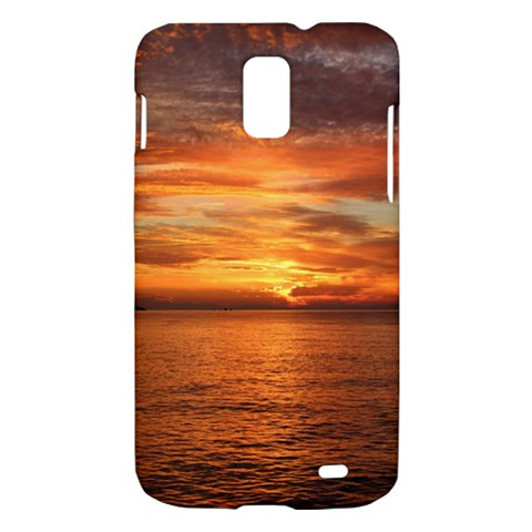 Sunset Sea Afterglow Boot Samsung Galaxy S II Skyrocket Hardshell Case