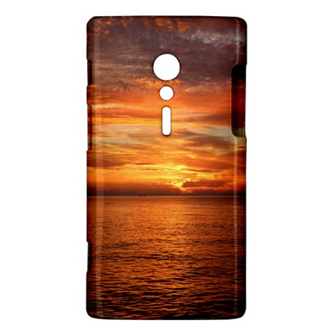 Sunset Sea Afterglow Boot Sony Xperia ion