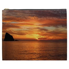 Sunset Sea Afterglow Boot Cosmetic Bag (XXXL)