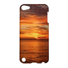 Sunset Sea Afterglow Boot Apple iPod Touch 5 Hardshell Case