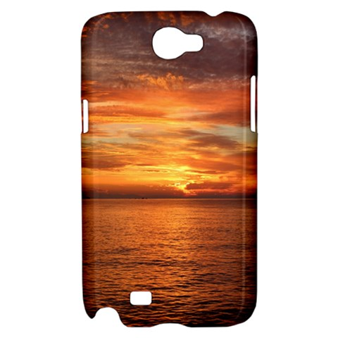 Sunset Sea Afterglow Boot Samsung Galaxy Note 2 Hardshell Case