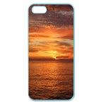 Sunset Sea Afterglow Boot Apple Seamless iPhone 5 Case (Color) Front