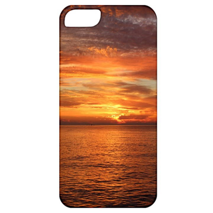 Sunset Sea Afterglow Boot Apple iPhone 5 Classic Hardshell Case