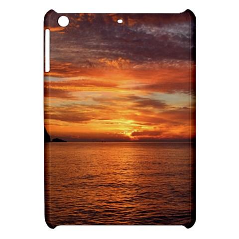 Sunset Sea Afterglow Boot Apple iPad Mini Hardshell Case