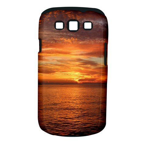 Sunset Sea Afterglow Boot Samsung Galaxy S III Classic Hardshell Case (PC+Silicone)