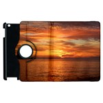 Sunset Sea Afterglow Boot Apple iPad 2 Flip 360 Case Front