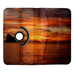 Sunset Sea Afterglow Boot Samsung Galaxy Note II Flip 360 Case