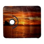 Sunset Sea Afterglow Boot Samsung Galaxy S  III Flip 360 Case Front