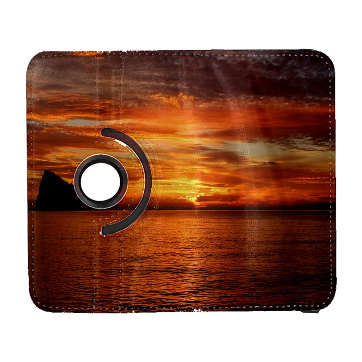 Sunset Sea Afterglow Boot Samsung Galaxy S  III Flip 360 Case